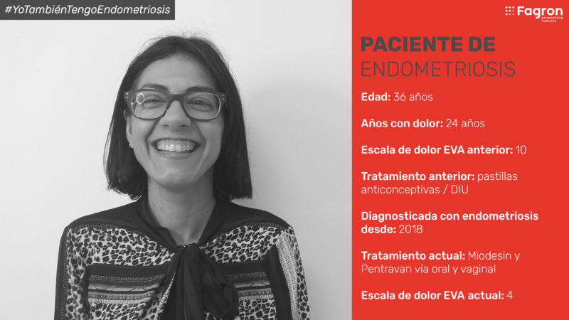 Carmen, paciente con endometriosis